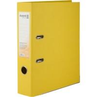 Регистратор с двухсторонним покрытием А4, (7,5см) желтый D1712-08C