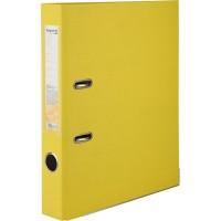 Регистратор с односторонним покрытием А4, (5см.) желтый D1713-08C