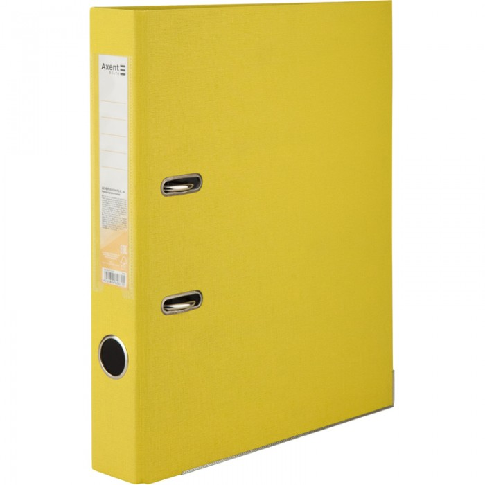 Реєстратор з одностороннім покриттям А4, (5 см.) жовтий D1713-08C