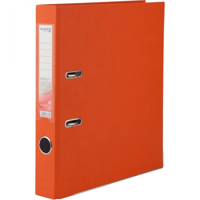 Регистратор с односторонним покрытием А4, (5см.) оранжевый D1713-09C