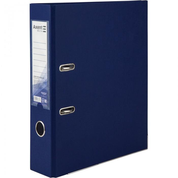 Реєстратор з одностороннім покриттям А4, (7,5 см.) синій D1714-02C