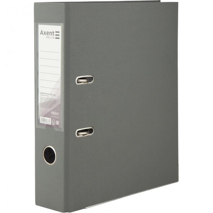 Регистратор с односторонним покрытием А4, (7,5см.) серый D1714-03C