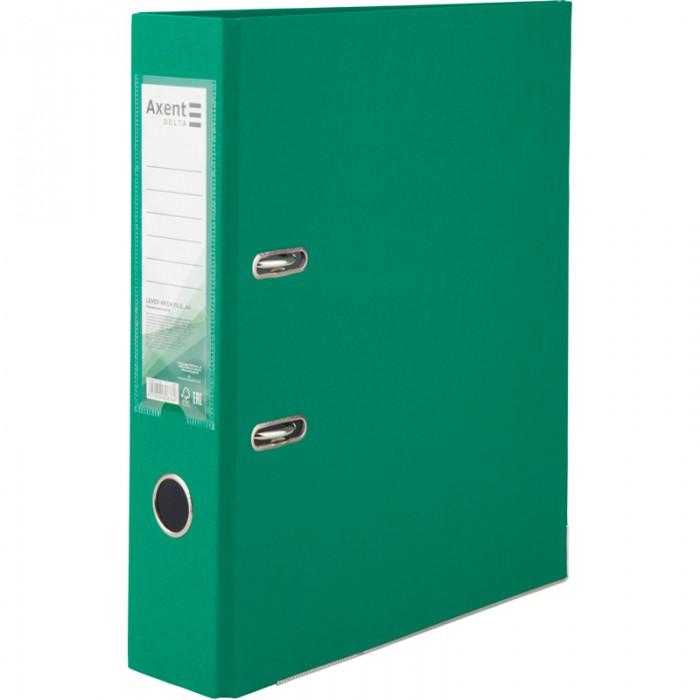 Регистратор с односторонним покрытием А4, (7,5см.) зеленый D1714-04C