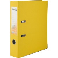 Регистратор с односторонним покрытием А4, (7,5см.) желтый D1714-08C
