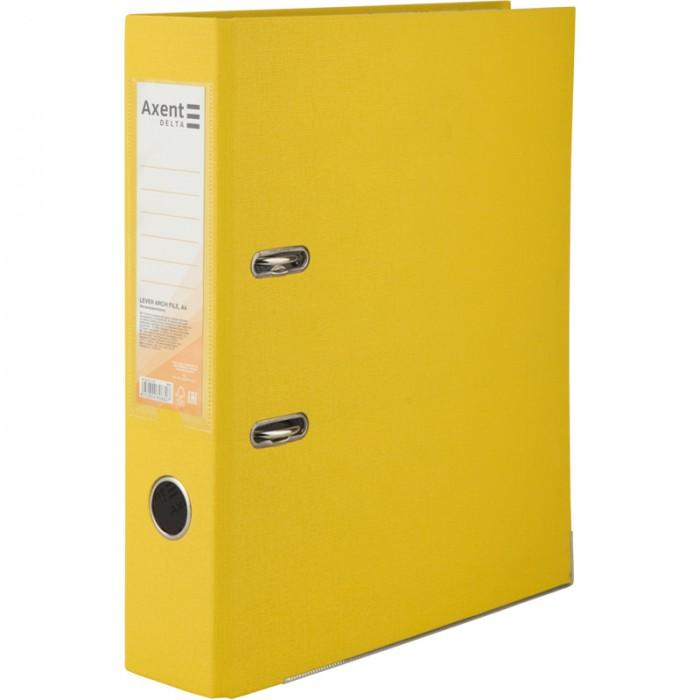 Реєстратор з одностороннім покриттям А4, (7,5 см.) жовтий D1714-08C