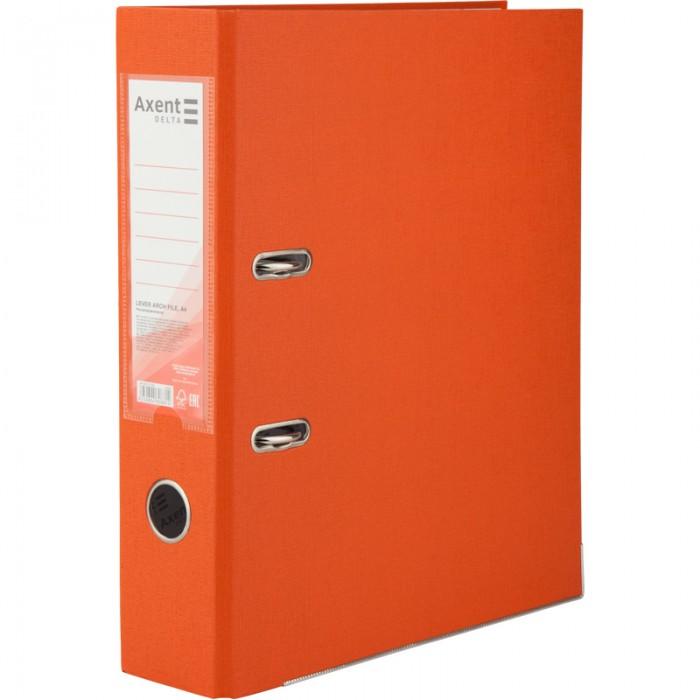 Регистратор с односторонним покрытием А4, (7,5см.) оранжевый D1714-09C