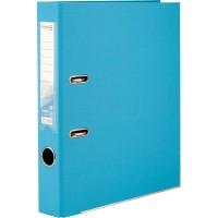 Регистратор с двухсторонним покрытием А4, (5см) светло-голубой D1711-29C