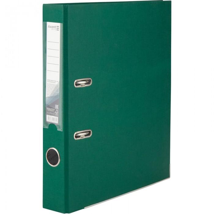 Регистратор с односторонним покрытием А4, (5см.) темно-зеленый  D1713-23C