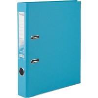 Регистратор с односторонним покрытием А4, (5см.) светло-голубой  D1713-29C