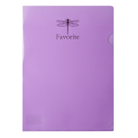 Папка-куток А4 Favorite Pastel (бузковий) BM.3855-26