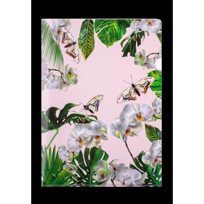 Папка-куточок А4 ORHID (біла)