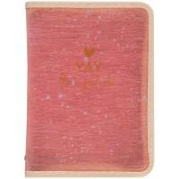 Папка объемная на молнии А4+ Shade Coral 1804-14-a