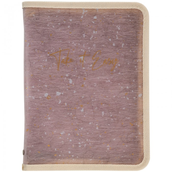 Папка объемная на молнии А4+ Shade Violet 1804-16-a