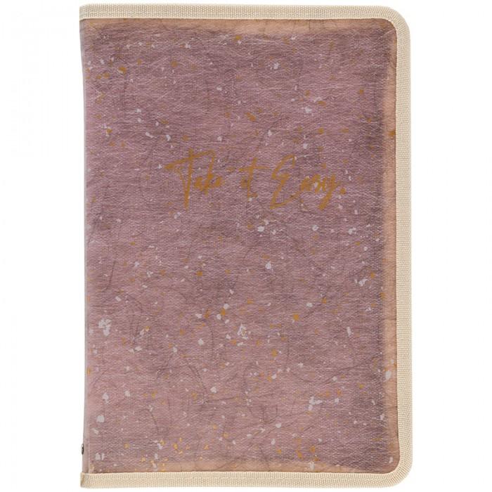 Папка объемная на молнии А5+ Shade Violet 1805-16-a