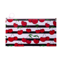 Папка на молнии zip lock CHERRY DL красная
