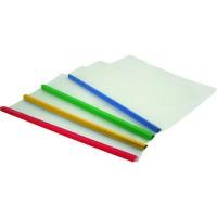 Папка-швидкозшивач з планкою А4, 2-35арк (асорті) 8шт/уп 1416-00-A