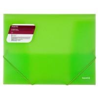Папка на гумках А4 (зелений) 1501-26-a