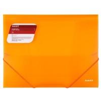Папка на гумках А4 (помаранчевий) 1501-25-a