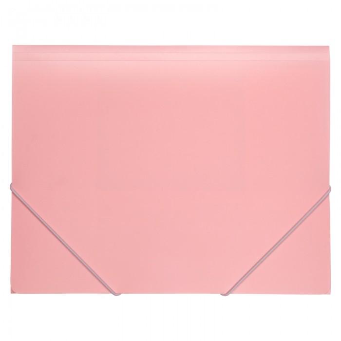 Папка на резинках А4 Pastelini (розовый) 1504-10-A