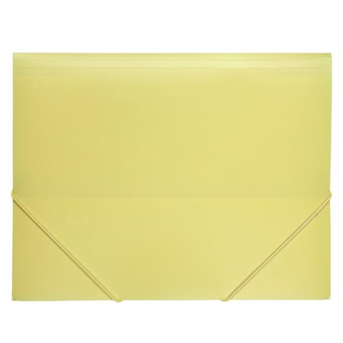 Папка на резинках А4 Pastelini (желтый) 1504-26-A