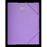 Папка на резинках А4 Favorite Pastel (сиреневый) BM.3954-26