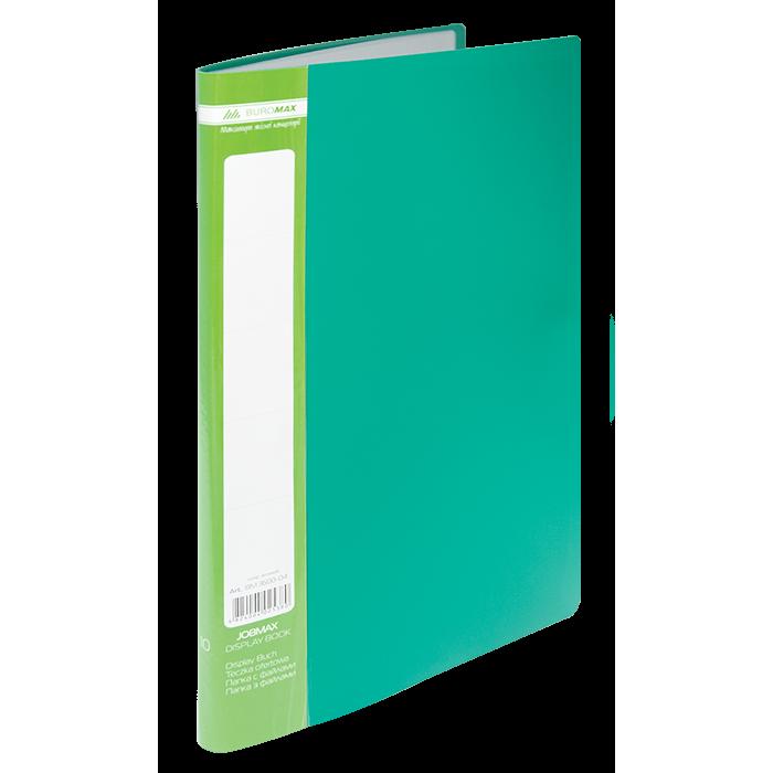 Папка з 10 файлами А4 (зелений) bm.3600-04