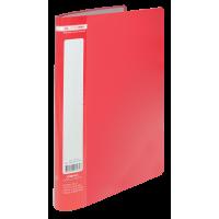 Папка з 10 файлами А4 (червоний) bm.3600-05