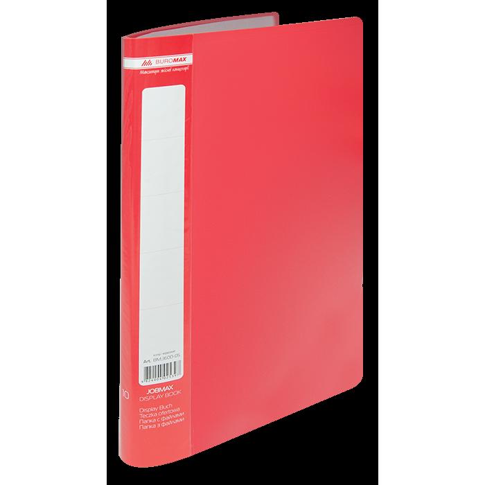 Папка с 10 файлами А4 (красный) bm.3600-05