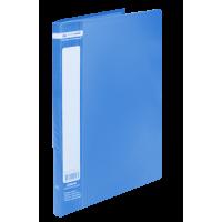 Папка с 20 файлами А4, Jobmax (синий) bm.3605-02