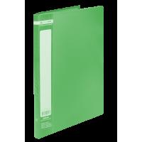 Папка з 20 файлами А4, Jobmax (зелений) bm.3605-04