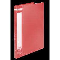Папка з 20 файлами А4, Jobmax (червоний) bm.3605-05