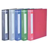 Папка з 60 файлами, А4, гладкий пластик (асорті) bm.3622-99