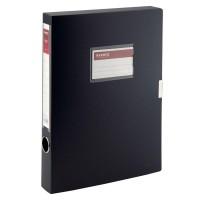 Папка-коробка на липучці, 36мм. А4 (чорний) 1736-01-A