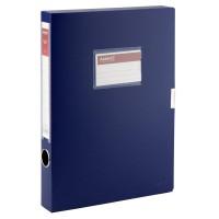 Папка-коробка на липучке, 36мм. А4 (синий) 1736-02-A