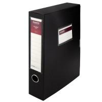 Папка-коробка на липучке, 60мм. А4 (черный) 1760-01-A