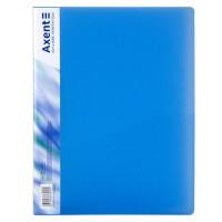 Папка с прижимом А4 (синий) 1301-22-a