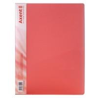 Папка с прижимом А4 (красный) 1301-24-a