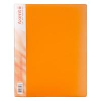 Папка с прижимом А4 (оранжевый) 1301-25-a