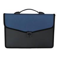 Портфель на 3 відділення (синій) bm.3734-02