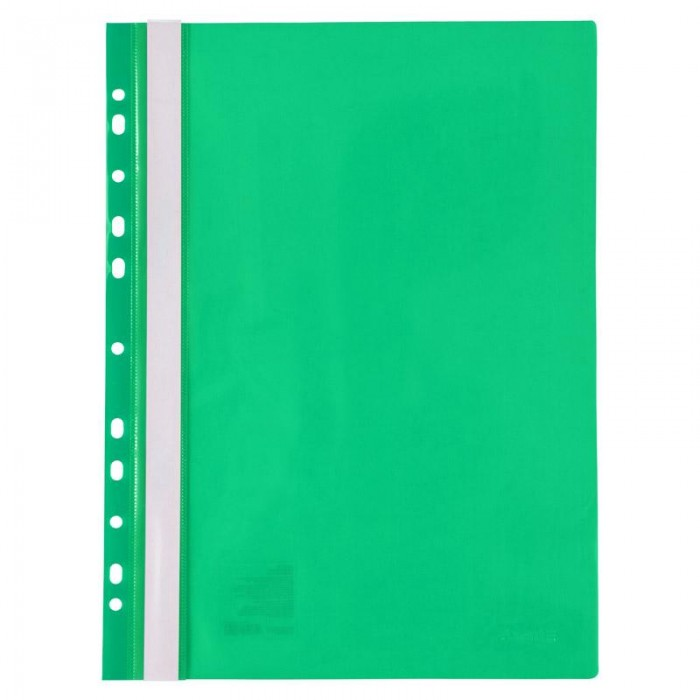 Скоросшиватель А4 с европерфорацией (зеленый) 1318-25-A