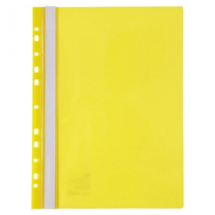 Скоросшиватель А4 с европерфорацией (желтый) 1318-26-A