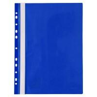 Швидкозшивач А4 з європерфорацією (синій) 1318-02-A