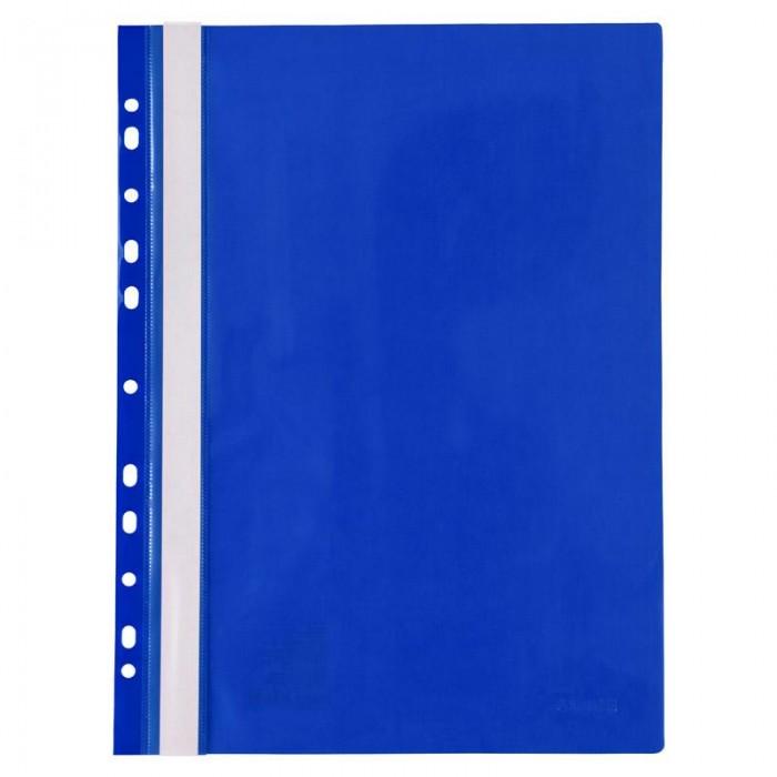 Скоросшиватель А4 с европерфорацией (синий) 1318-02-A