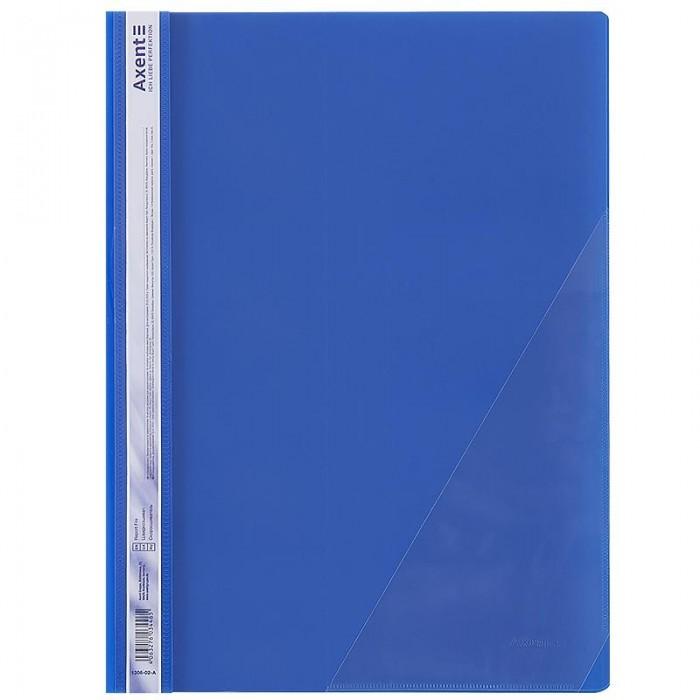 Швидкозшивач з кутовою кишенею (синій) 1306-02-a
