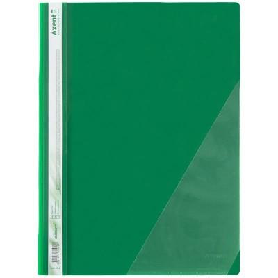 Швидкозшивач з кутовою кишенею (зелений) 1306-25-a