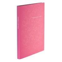 Папка-швидкозшивач А4 Barocco (рожевий) bm.3409-10