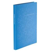 Папка-швидкозшивач А4 Barocco (блакитний) bm.3409-14