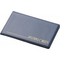 Визитница для 24 визиток PVC (т.-синий) 0304-0001-02