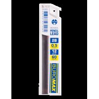 Грифели для механического карандаша 0,5 мм. 2B (12шт)