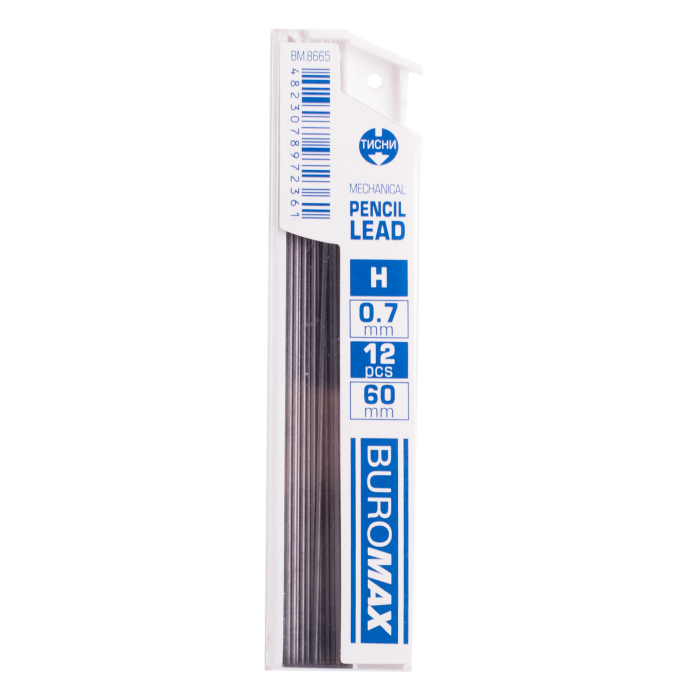 Грифели для механического карандаша 0,7 мм. Н (12шт)